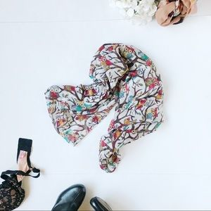 3/$20 NWT Hands of The World Owl Scarf